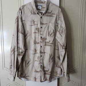 Columbia River Lodge long sleeve button down